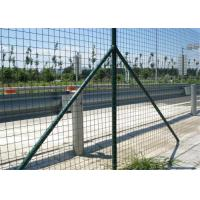 Wholesale Garden Green Holland Wire Mesh , PVC Coated Galvanized Wire Fencing Mesh from china suppliers
