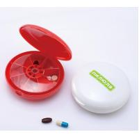 4 inch round 7 days pill dispenser, 7 days pill box, TOM104651