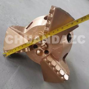 China Hot sale hard rock mining 190mm PDC drill bit/ blade drill bit/ drag drill bit on sale