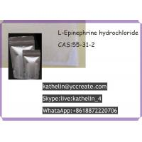 Wholesale L - Epinephrine hydrochloride Pharmaceutical Raw Materials For Bodybuilding , CAS 55-31-2 from china suppliers