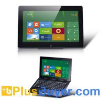 Wholesale Hybrid - Windows 8 Pro Compatible 11.6 Inch Convertible Tablet + Laptop (1.1GHz Dual Core, 32GB, 4GB RAM, 1366x768) from china suppliers