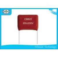 Wholesale Pulse Metallized Polyester Film Capacitor CBB22  2 Microfarad Polypropylene Capacitor from china suppliers