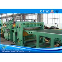 Buy cheap Blue Colour Cut To Length Line 100m / Min Cutting Speed High Efficiency from wholesalers