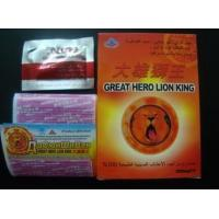 Wholesale Safety Herbal Male Enhancement , Great Lion King Sexual Enhancement Pills from china suppliers