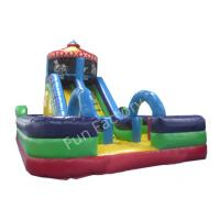 Wholesale Commercial Grade Outdoor Inflatable Water Slide High Tear Strength from china suppliers