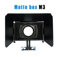 Wholesale Matte box for 15MM rail rod support follow focus 550D 60D 600D 5D2 dslr camera from china suppliers