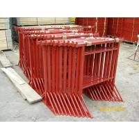 Wholesale Red Scaffolding Prop Adjustable Steel Trestles / Steel Builders Trestles Size 3 from china suppliers