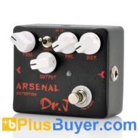 Wholesale Dr. J D51 Arsenal Distortion - Guitar Effects Pedal with Broad Tone Adjustments and True Bypass from china suppliers