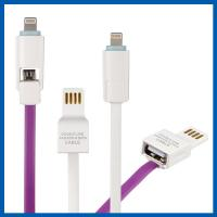 Wholesale Dual 8 Pin Micro USB Data Transfer Cable Charging Cord Data For Android And IOS from china suppliers