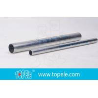 Wholesale 1-inEMT Conduit And Fittings Pre-Galvanized Metal Pipe , Electrical cable conduit from china suppliers
