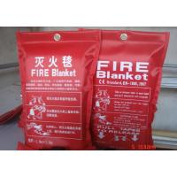 Wholesale hot sale heat Insulation glassfiber fire blanket for safety protection from china suppliers