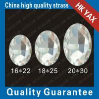 Wholesale D0922 China Factory Wholesale Glass Flat back beads from china suppliers
