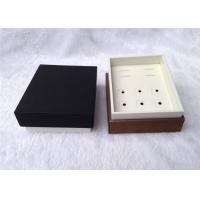 Quality Up And Down Cufflink And Tie Clip Storage Box Square Shape 93 X 75 X 50mm Size for sale