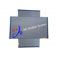 Wholesale 2-3 Layer Flat Type Rock Shaker Screen Stainless Steel 316 Blue Color Swaco DFE from china suppliers
