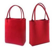 Quality Fashionable felt tote bags for sale