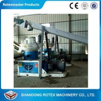 Quality 90kw Vertical Ring Die Wood Sawdust Biomass Fuel Pellet Machine for sale