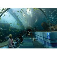 Wholesale Customized Big perspex plexiglass acrylic tunnel for Underwater World from china suppliers
