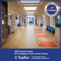 Wholesale PVC Gym Floor Mat Fitness Carpet oak color from china suppliers