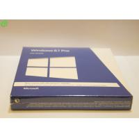 Wholesale Original Windows 8.1 Pro Pack DVD *2 With Key Card 32 / 64bits Offical Blue Retail Box from china suppliers