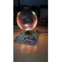 Indoor Rental Full Color Curved Led Display Ball for Video , Picture