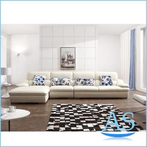China Home Furniture Leather Sofa L Shape Sofa Furniture