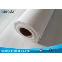 Wholesale Matte Eco Solvent Poly - Cotton Canvas Rolls 320 Gram , Cotton Canvas Rolls from china suppliers
