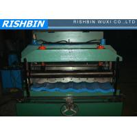 Wholesale Color Steel Metal Roofing Roll Forming Machine With Hydraulic Pressing For Step Tile from china suppliers
