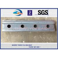 Wholesale BS80A ASTM and DIN Railroad Joint Bars Railway Fish Plate With 4 Hole , 6 Hole from china suppliers
