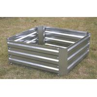 Buy cheap Raised Garden bed 60x60x30cm,Metal garden bed,flower pot,garden pot,greenhouse,storage she from wholesalers