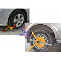 Wholesale Trucks / Big Vehicle / trailer wheel clamp lock Adjustable Size , Easy operate from china suppliers