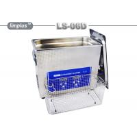 Wholesale LS - 06D 6.5 Liter Digital Pipe Tube Ultrasonic Cleaner Machine / Ultrasonic Cleaning Bath Lab Use from china suppliers