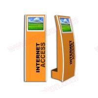 Wholesale Cheap price High quality 17 inch touch screen floor standing internet kiosk with touch screen and wifi connection from china suppliers
