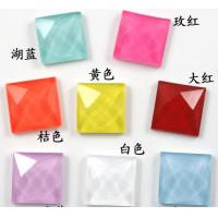 Wholesale Wholesale loose neon color hot fix acrylic rhinestone 15mm from china suppliers
