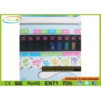 Healthy LCD Baby Room And Bath Thermometer Card Safety First
