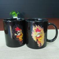 Wholesale Heat sensitive color changing magic mug stoneware 300ml / 11oz from china suppliers