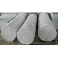 Wholesale Marble Table Tops Guangxi White Marble Round Table Tops China Carrara Marble Table Top from china suppliers