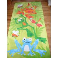 Wholesale Large Size Custom Printed Beach Towels Comfortable For Youths 320gsm   from china suppliers