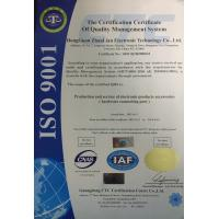 DongGuan TopGain Communication Technology Co ., Ltd Certifications