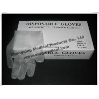 Wholesale EN455 Latex Free Synthetic Vinyl Gloves ,  PVC Medical Surgical Gloves  Fits Either Hands from china suppliers
