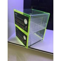 Wholesale PMMA rack display show acrylic clear e-liquid juice acrylic display stand from china suppliers