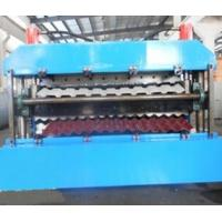 Wholesale 18 Forming Stations Double Layer Roll Forming Machine PLC For IBR / Corrugated Sheets from china suppliers