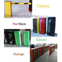 Quality Heavy Duty Boom Barrier Gate , drop arm barrier RFID card controlled durable motor for sale