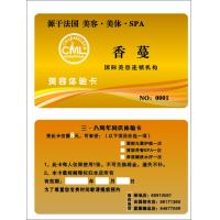 Wholesale Double sided PVC VIP membership card printing, 10 years professional experience from china suppliers