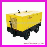 Buy cheap Diesel driven piston air compressor from wholesalers