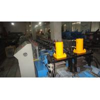 Wholesale Side By Side Two In One Sheet Metal Roll Forming Machines 12 - 15m/min in Blue from china suppliers