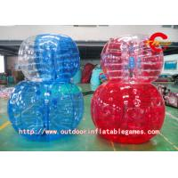 Wholesale 1.2m PVC Inflatable Zorbing Ball Bumper Kids Football Water Walking Ball from china suppliers