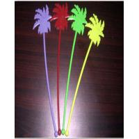 Wholesale 35mm Yellow Disposable Cutlery Set / Coconut Tree Shape Stirrers from china suppliers