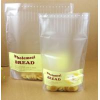 Wholesale Cream Yellow Transparent PE / NY /PET Plastic Pouches Packaging Window for Bread Food from china suppliers