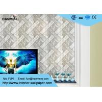 Wholesale Moisture Proof Modern Removable Wallpaper with Silver Geometric Pattern from china suppliers