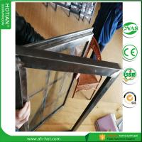 Wholesale 2017 Latest Design Steel Security Windows Steel Fixed Grid Window from china suppliers